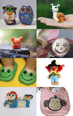 WHY NOT TAKE A VISIT TO CRITTERVILLE.......On Etsy:)....ENJOY!!!! by Myrna Neal on Etsy--Pinned with TreasuryPin.com