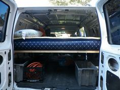 How To Build A Bed In A Van. Building a Simple Removable Bed in Our Cargo Van