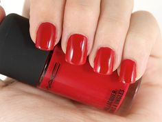 MAC Nail Lacquer in Russian Red