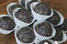 Healthy Sweets, Mini Cupcakes, Seeds, Food And Drink, Keto, Cookies, Baking, Breakfast, Desserts