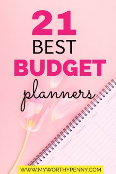 21 Best Budget Planners For Successful Budgeting - My Worthy Penny Budget Planner, College Planner, School Planner, Free Planner, Printable Planner, Best Budget, Family Budget, Finance Tips, Personal Finance
