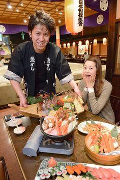 Speaking of Ryokoku...Home of Sumo Having seafood dishes around the Sumo Ring #ryokoku #sumo #isagaya #sumoring #japan #japankuru #tokyo #seafood #hananomai #travel #food #culture