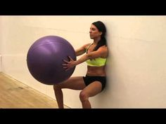 Insane Abs and Leg Stability Ball Workout