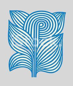Leafy Plant royalty-free stock vector art