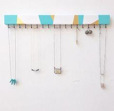 Jewelry Organizer Necklace Holder Earring Holder Modern