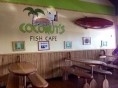 Coconut's Fish Cafe, Kihei, Maui, Hawaii