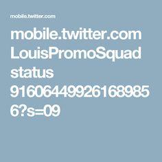 mobile.twitter.com LouisPromoSquad status 916064499261689856?s=09