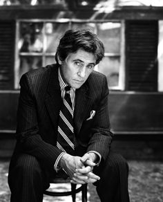 Gabriel Byrne. Today he turns 63 and he's just as handsome as ever. May 12 www.groovie.com