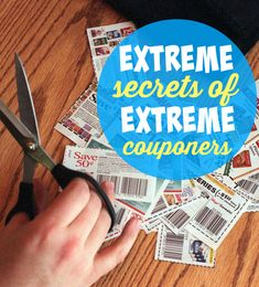 The Extreme Secrets of Extreme Couponers