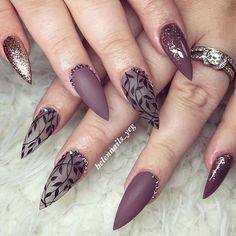 WEBSTA @ helennails_yeg - Work with LOVE   #yegnails #closeup # ALL DONE BY FREEHAND #edmontonnails #clientview #780nails #edmontonnailtech #cute #fade #edmlifestyle #edm #swarovski #blingnails #acrylicnails #fullset #yegnailtech #lacenails #nails #handpainted #freehanddesign #colors #nailart #no19 #greynails #grey #blacknails #greyandblack #linework #workwithlove #pinknails #blingnails #nailsofinstagram