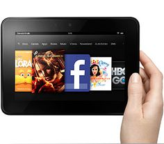 """Kindle Fire HD 7""""... And yet again pure awesome!! I would read all the time on this <3"""