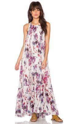Free People Juno Maxi Dress in Spring Garden Combo | REVOLVE