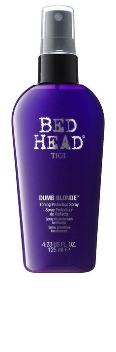 TIGI BED HEAD DUMB BLONDE TONING PROTECTION SPRAY 4.23 OZ
