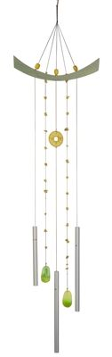 Woodstock Feng Shui Chime - Chi Energy, #Jade.  n the ancient Chinese practice of Feng Shui, windchimes with hollow tubes, like the Woodstock Feng Shui Chime, are thought to redirect energy and achieve harmony with the surrounding environment.  #windchime #windchimes