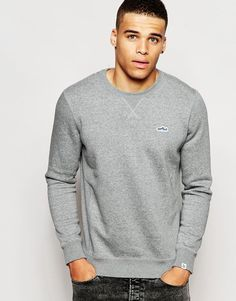 "Sweatshirt by Puma Loop-back sweat Crew neck Applique to chest Fitted hem and cuffs Regular fit - true to size Machine wash 70% Cotton, 30% Polyester Our model wears a size Medium and is 188cm/6'2"" tall"