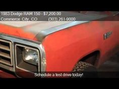 1983 Dodge RAM 150 W150 for sale in Commerce City, CO 80022