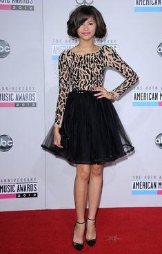 Zendaya Coleman Cocktail Dress - Zendaya Coleman Looks - StyleBistro