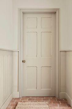 Peinture Little Greene, Little Greene Paint, Stone Colour Paint, Green Paint Colors, Hallway Inspiration, Hallway Ideas, Portland Stone, Custom Made Curtains, Turbulence Deco