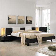minimalist decoration: nice neutrals love the bed