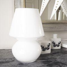 Vase opaline verre Magda ht.23,5 cm