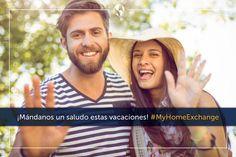 ¡MÁNDANOS UN SALUDO ESTAS VACACIONES! con #MyHomeExchange y gana 1 suscripción gratuita durante 1 año!  Más info: http://ow.ly/PgIlp