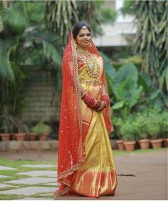 Royal South Indian bride