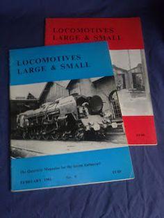 Livros&BD4sale: 4 Sale - Locomotives Large & Small