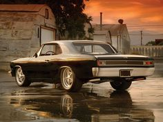 '66 Chevelle    Back then I didn't like this style ; now I do ..........Don