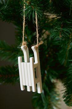 RM Sleigh Ornament