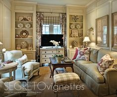 Fabulous details - furniture choices, fabrics, style, art and accessories