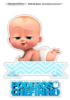 Boss Birthday, Baby Boy 1st Birthday Party, Baby Party, Baby Boy Cake Topper, Baby Boy Cakes, Boy Printable, Skirt Mini, Baby Invitations, Boss Baby
