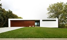 Sweeney Lake House - modern - exterior - minneapolis - CHRISTIAN DEAN ARCHITECTURE, LLC