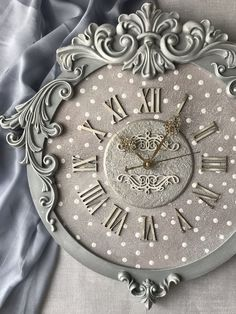Clock for home handmade. Часы настенные … Clock for home handmade. Clock Craft, Diy Clock, Wood Clocks, Antique Clocks, Handmade Wall Clocks, Wall Clock Design, Clock Wall, Plaster Art, Iron Orchid Designs