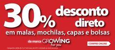 30% Desconto direto em malas, mochilas, capas e bolsas Growing    http://www.radiopopular.pt/familias/informatica/B1_Desconto-Growing.jpg