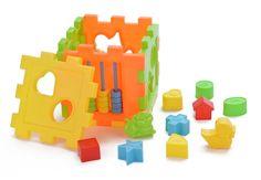 Новые детей дети детские красочные деревянные Mini вокруг бусины образовательные игры игрушки