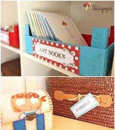 Inspiration Pirate Theme, Magazine Rack, Book Art, Storage, Pirates, Fabric, Inspiration, Home Decor, Child Room