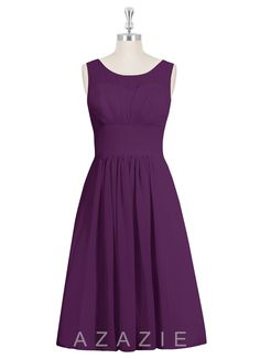 Shop Azazie Bridesmaid Dress - Skyla in Chiffon. Find the perfect made-to-order bridesmaid dresses for your bridal party in your favorite color, style and fabric at Azazie.