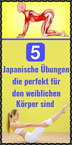 5 Japanese exercises that are perfect for the female body - gesundheit - Workout Fitness Workouts, Yoga Fitness, Health Fitness, Fitness Goals, Quotes Fitness, Fitness Hacks, Funny Fitness, Fitness Tracker, Fitness Diet