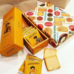行列店 お土産 メープルバタークッキー