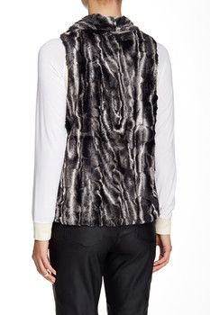 ec7df0a7c1d Tart Faux Fur Kai Vest Coats For Women