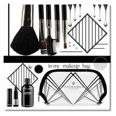 """""""În my make up bag // Beauty Stuff👑👝🖤"""" by anduu19 on Polyvore featuring beauty, Illamasqua, Glamour Status, Forum, Grown Alchemist and MAKE UP FOR EVER"""