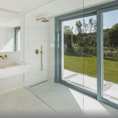 Iceberg White marble can turn any conventional place into a neat, crisp, and tidy room. The space grows with the bearing of this natural stone due to its candid appearance. #interiordesign #architecture Tidy Room, Marble Showers, Shower Enclosure, White Marble, Natural Stones, Windows, Interior Design, Architecture, Candid