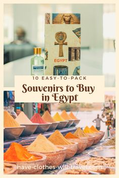 Discount Airfares Through The USA To Germany - Cost-effective Travel World Wide 10 Easy-To-Pack Souvenirs To Buy In Egypt Souvenirs You Can Easily Fit In Your Luggage From Egypt - Ranging From Cool Jewelry To Papyrus And Everything In Between Egypt Travel, Africa Travel, Canopic Jars, Egyptian Cotton Bedding, Travel Advice, Travel Ideas, Travel Guide, Travel Articles, Travel Info