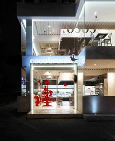 Coco bruni cafe by Betwin Space Design Seoul 35