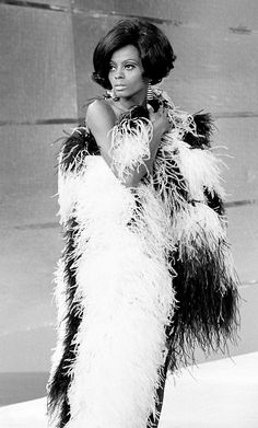 Always fashionable - Diana Ross, 1960s.