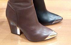 Iarna aceasta se poartă cizmele cu toc gros