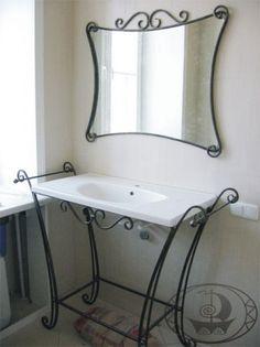 Гарнитур для ванной комнаты в стиле прованс