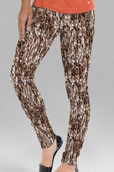 Printed Cotton Leggings