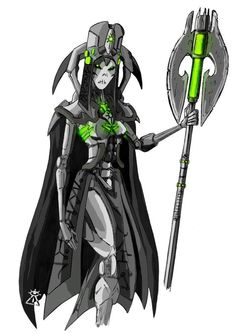 Necron 'Lordess' - Recoloured by Addan-Shem on DeviantArt Warhammer 40k Necrons, Sci Fi Models, Drawing Templates, Alien Races, Best Cosplay, Original Art, Deviantart, Imperial Army, Fictional Characters