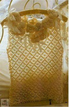 Moldes y patrones de blusa sin mangas ganchillo